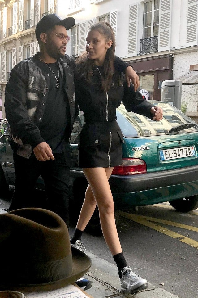 The Weeknd and Bella Hadid in France