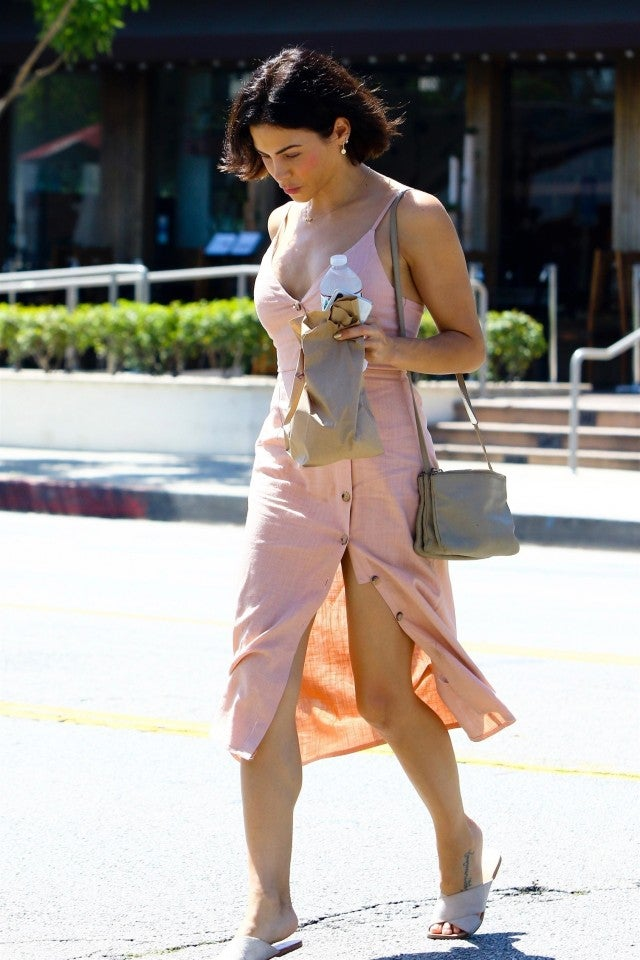 Jenna Dewan summer dress