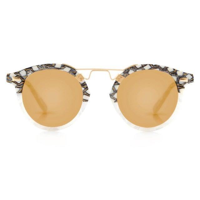 276a123fcb Shop Blake s Sunglasses. Krewe St. Louis Mirrored in Stella to Magnolia 24k