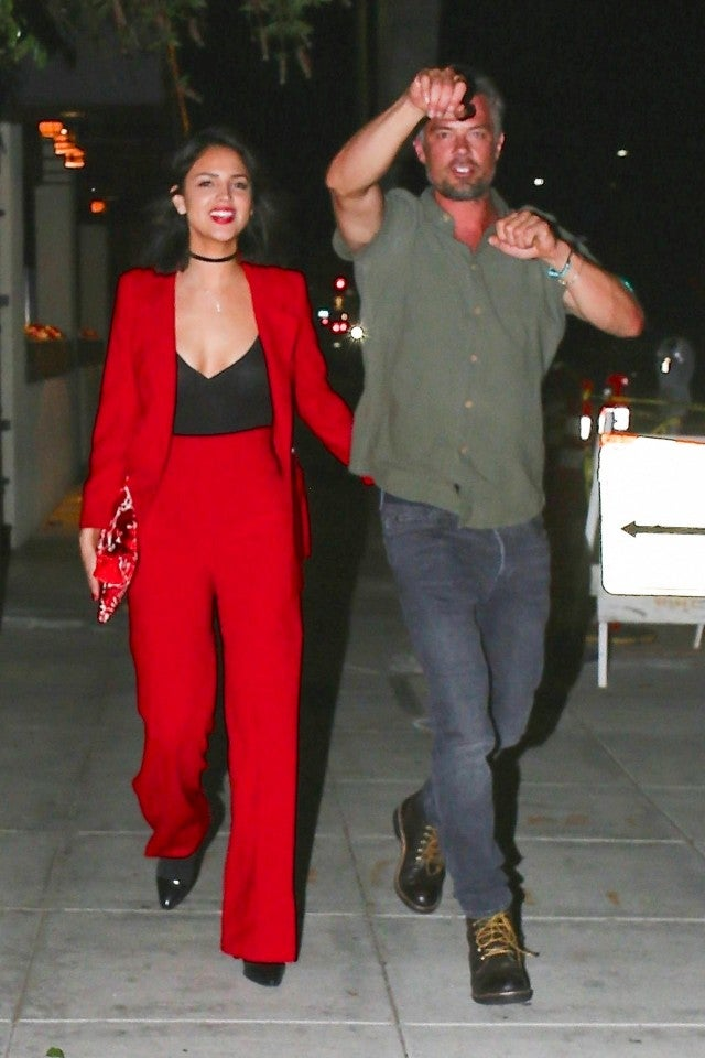 Eiza Gonzalez and Josh Duhamel