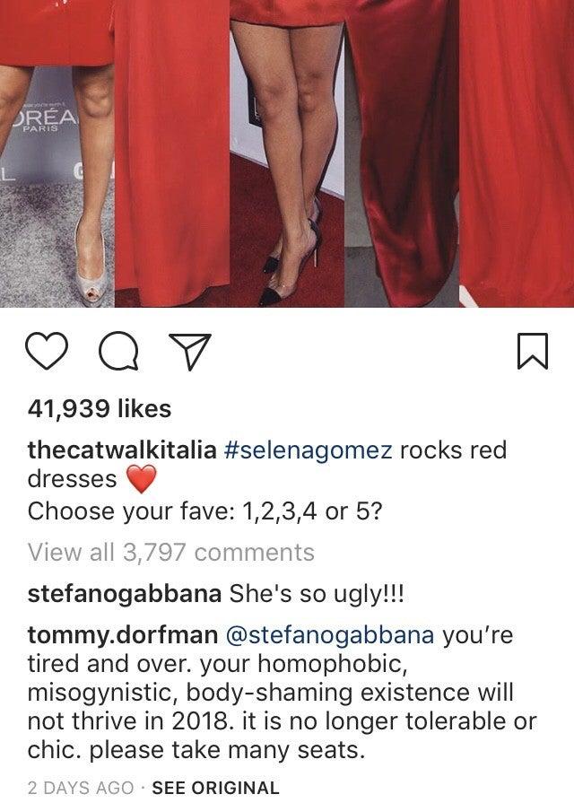 1411091c Miley Cyrus Defends 'Fine' Selena Gomez After Stefano Gabbana Called ...