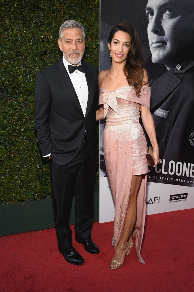 George Clooney and Amal Clooney AFI Gala