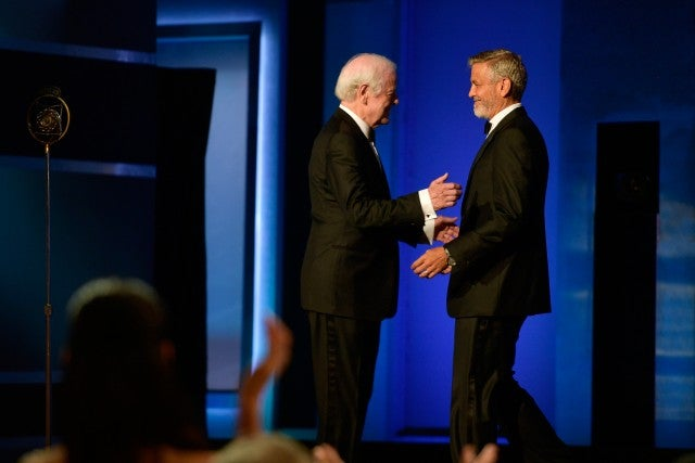 Goerge and Nick Clooney AFI Gala