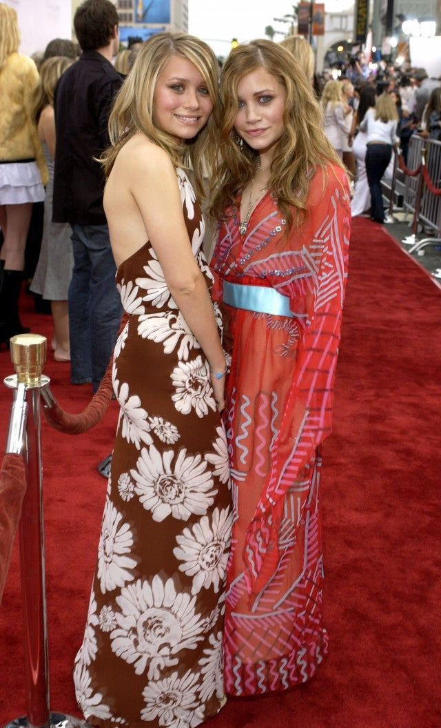Mary-Kate and Ashley Olsen Charlie's Angels premiere