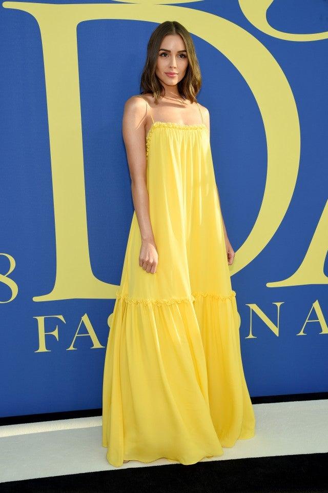 Olivia Culpo at the 2018 CFDA Fashion Awards