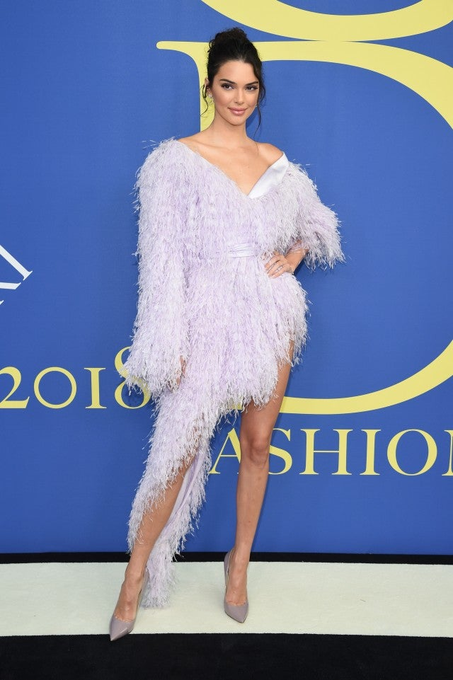 Kendall Jenner at 2018 CFDA Fashion Awards