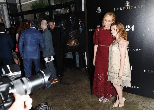Toni Collette Milly Shapiro Hereditary Premiere