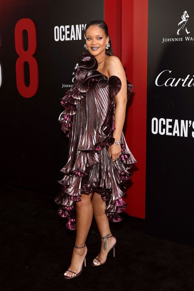 Rihanna at Ocean's 8 world premiere
