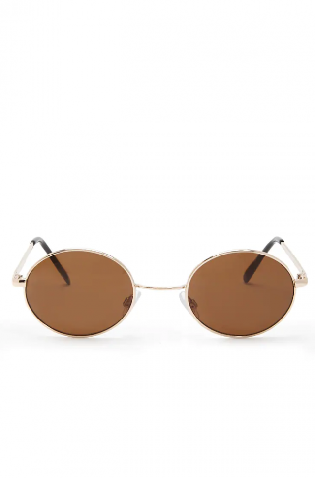 Forever 21 Colored Lens Round Sunglasses