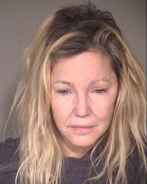 Heather Locklear's mugshot on June 24, 2018.