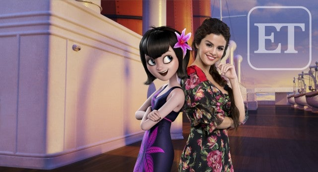 Selena Gomez Hotel Transylvania Summer Vacation