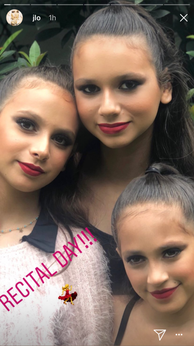 Jennifer Lopez Daughter and Alex Rodriguez's Daughters