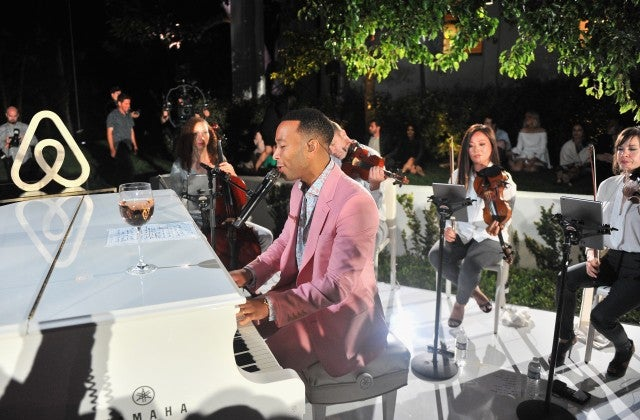 John Legend LVE Event