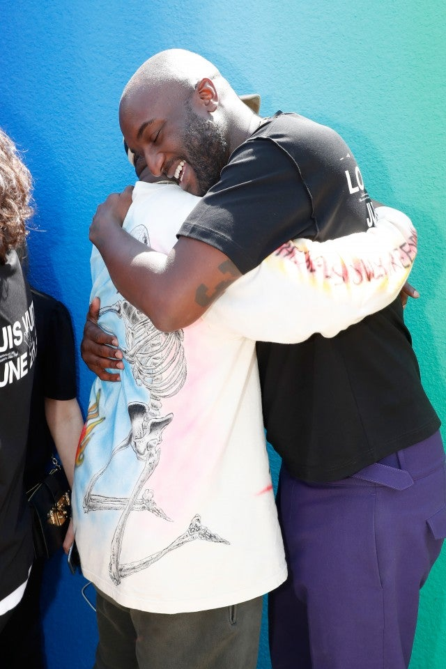 Kanye West and Virgil Abloh