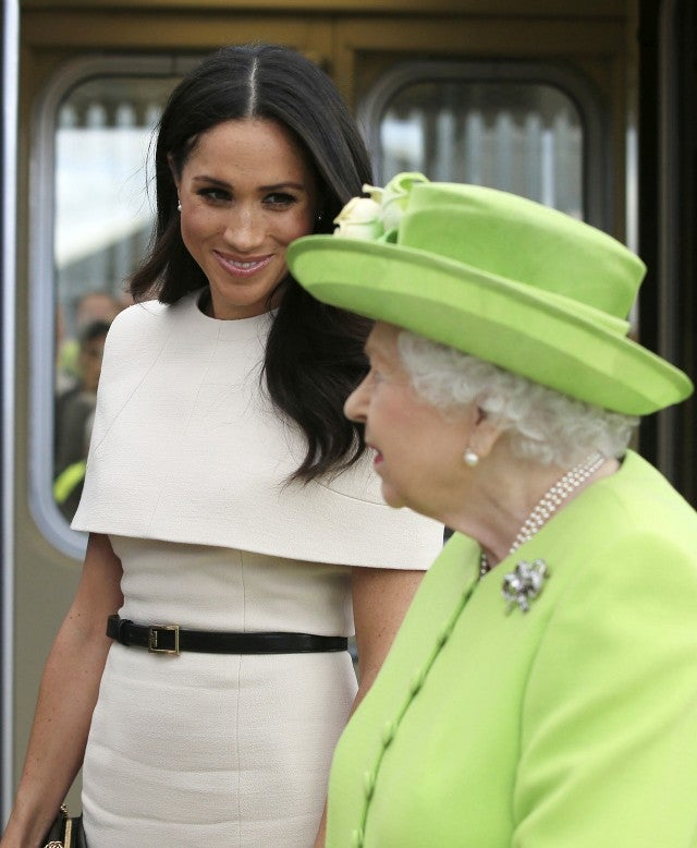 Meghan Markle and Queen Elizabeth