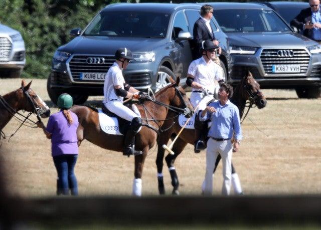 Prince Harry Prince William Polo Match
