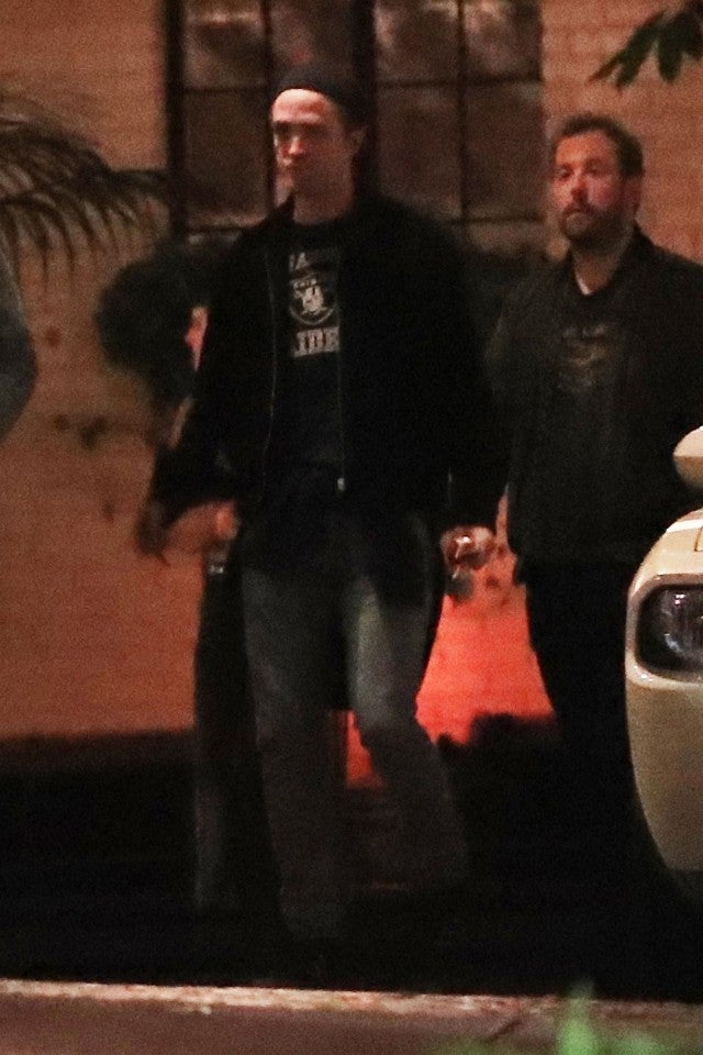 Robert Pattinson at the Chateau Marmont on June 1, 2018.