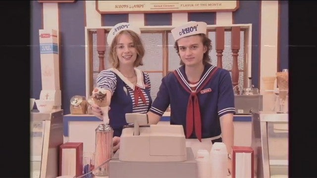 Maya Hawke and Joe Keery