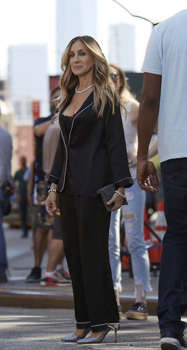 Sarah Jessica Parker Intimissimi outfit
