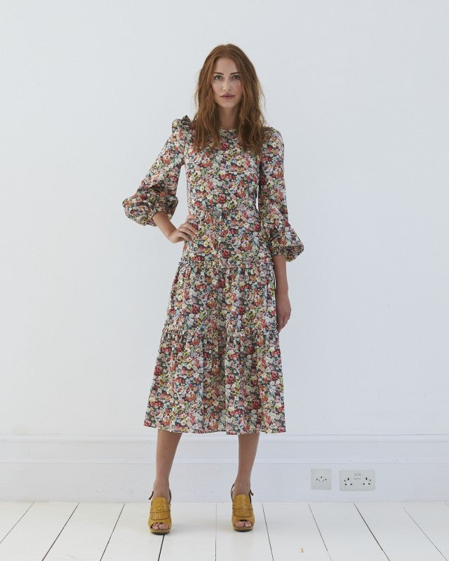 Anna Mason christy floral dress