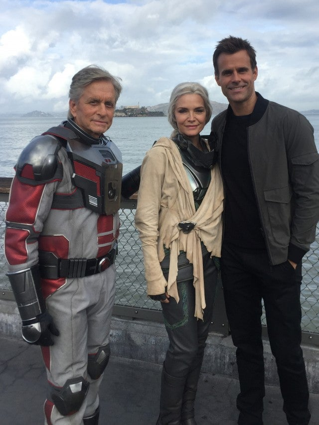 Ant-Man and the Wasp, Michael Douglas, Michelle Pfeiffer