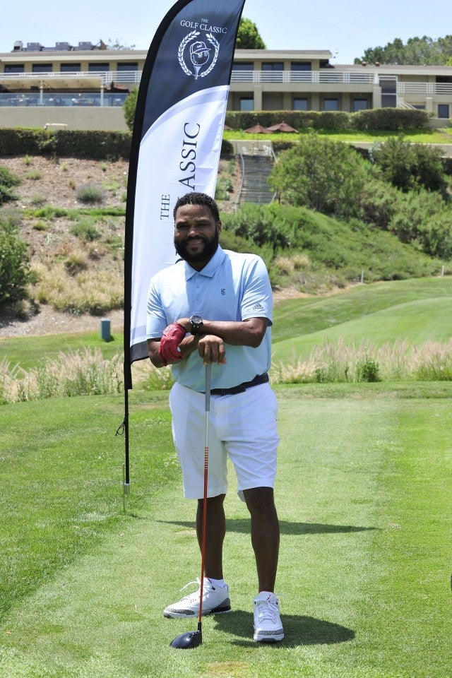 Anthony Anderson at The Golf Classic charity tournament