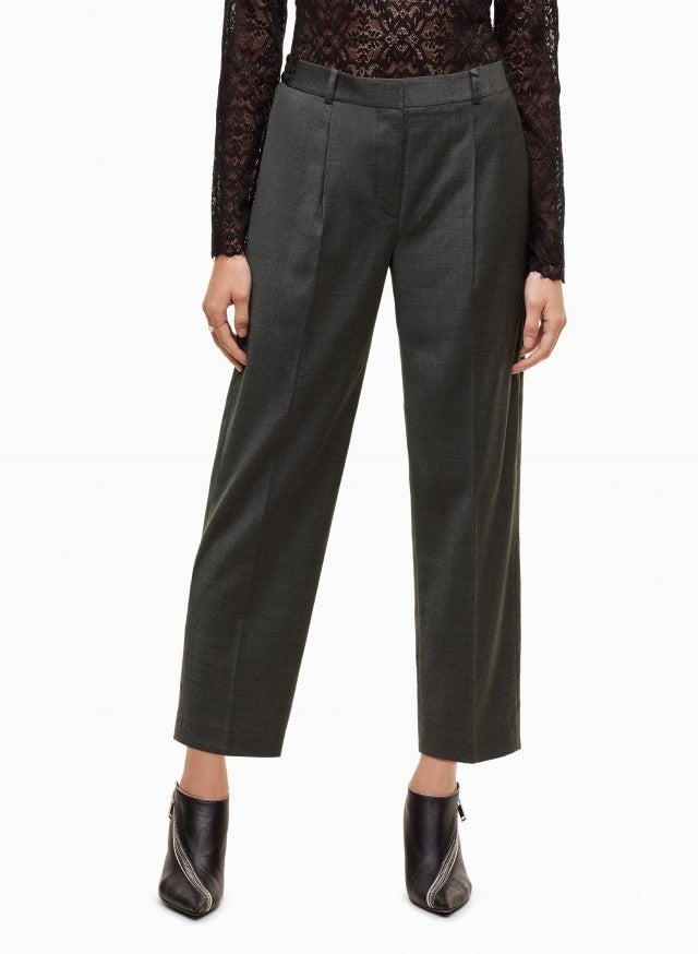 Aritzia Wilfred gray pant