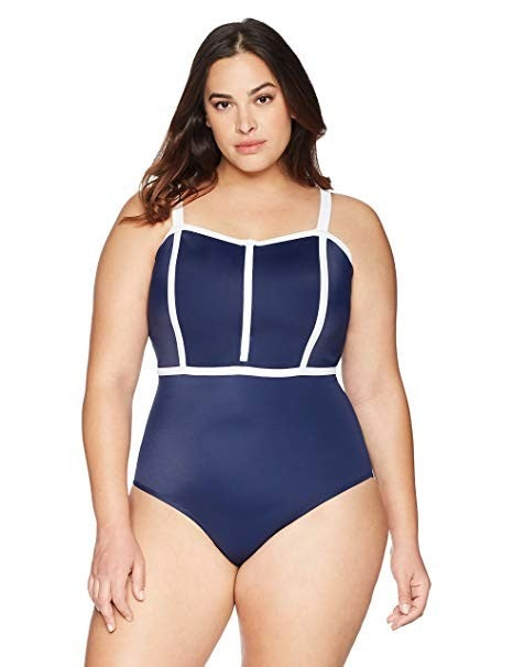 Coastal Blue one-piece
