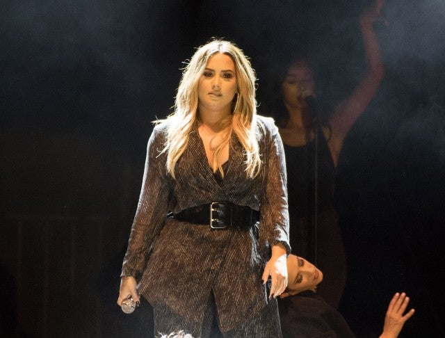 Demi Lovato performs during the 2018 California Mid-State Fair on July 22, 2018 in Paso Robles, California.
