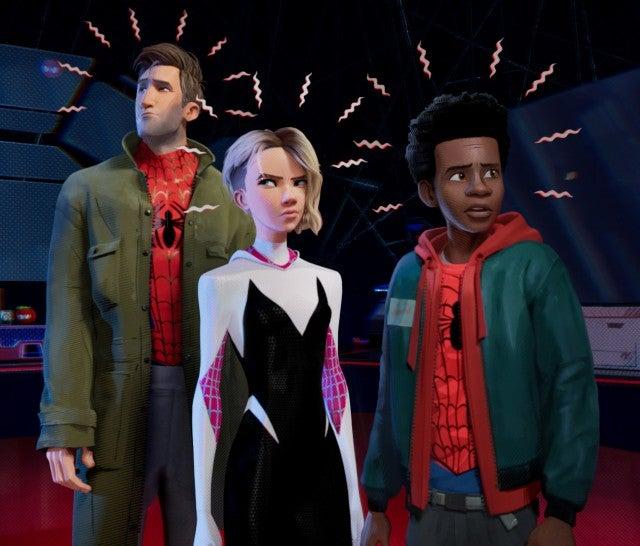 Tom hardy reveals whether tom hollands spider man appears in venom spider man into the spider verse m4hsunfo