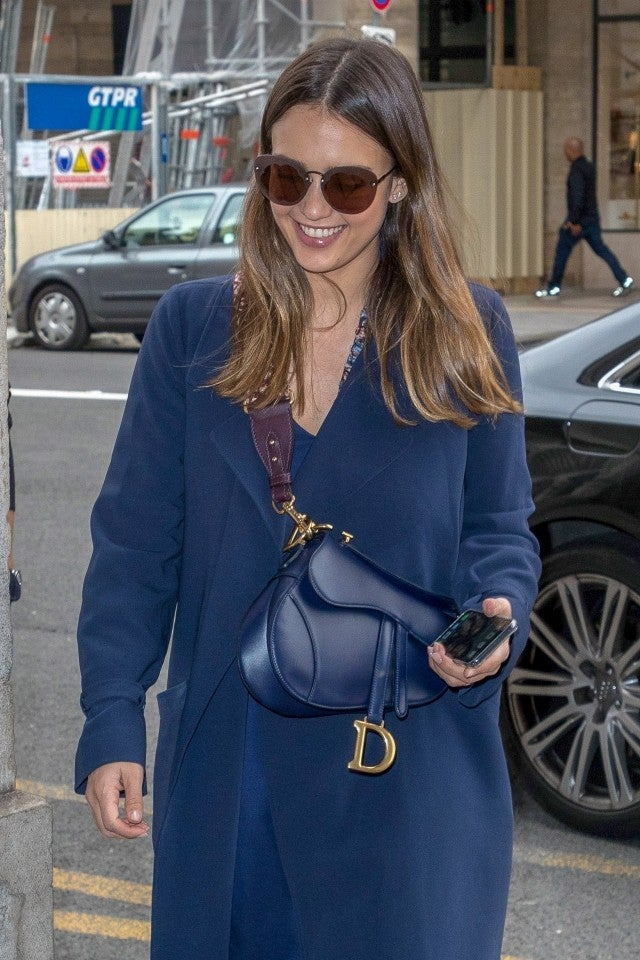 Jessica Alba Dior Saddle Bag