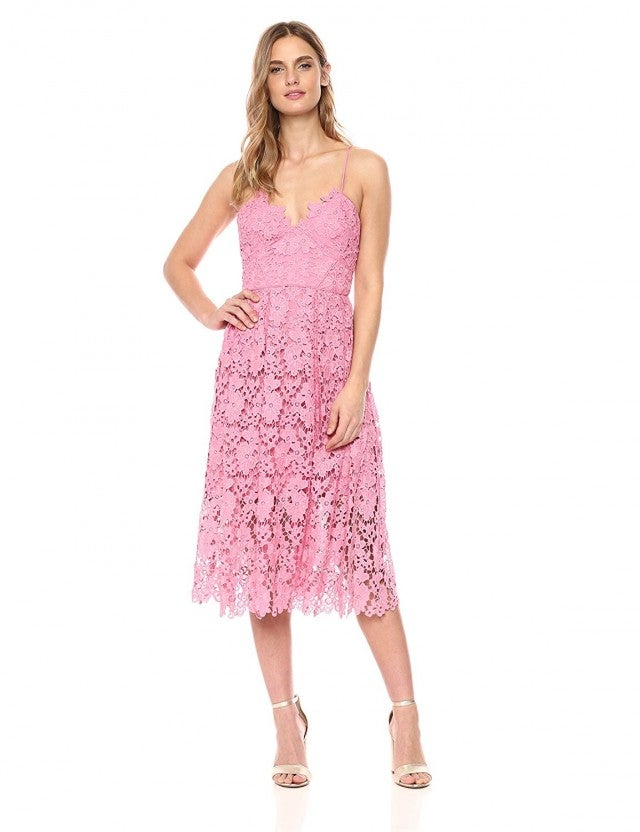 Donna Morgan pink dress