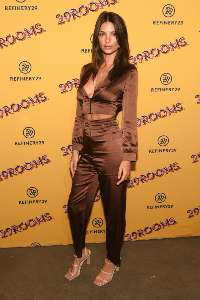 Emily Ratajkowski, Refinery 29's art exhibition launch party Chicago