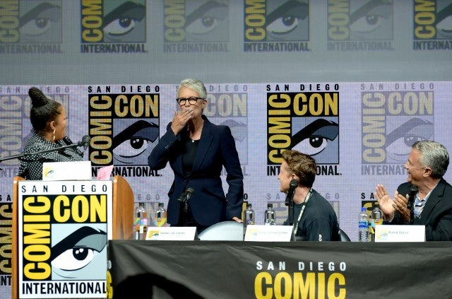 Jamie Lee Curtis Comic-Con 2018