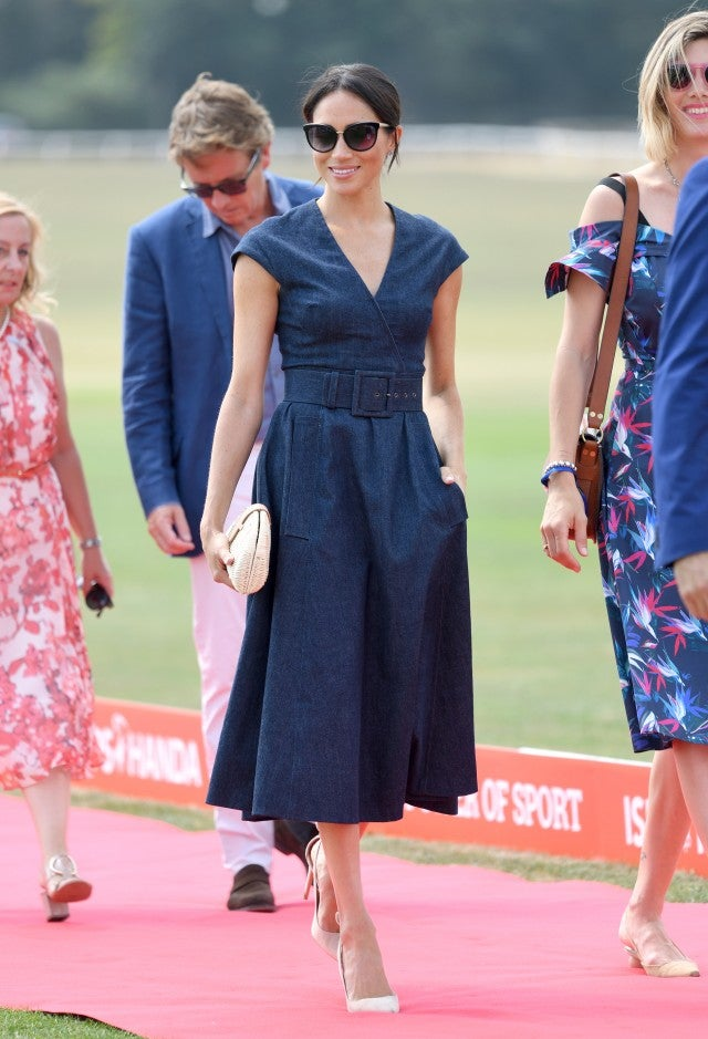 Meghan Markle denim dress
