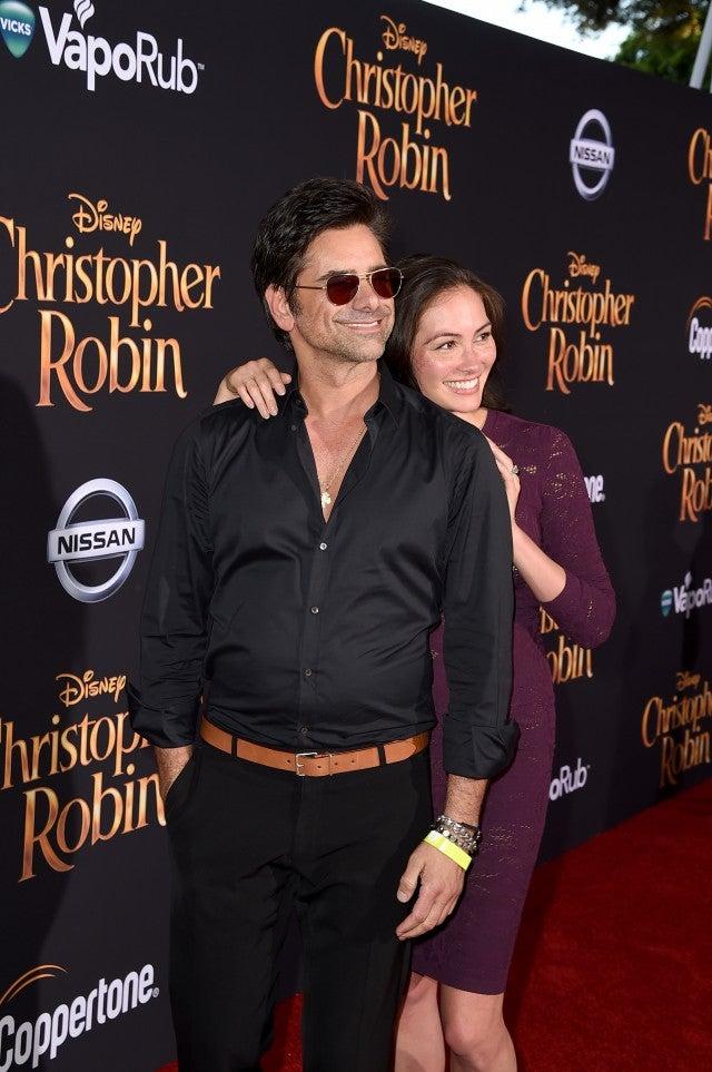 John Stamos and Caitlin McHugh