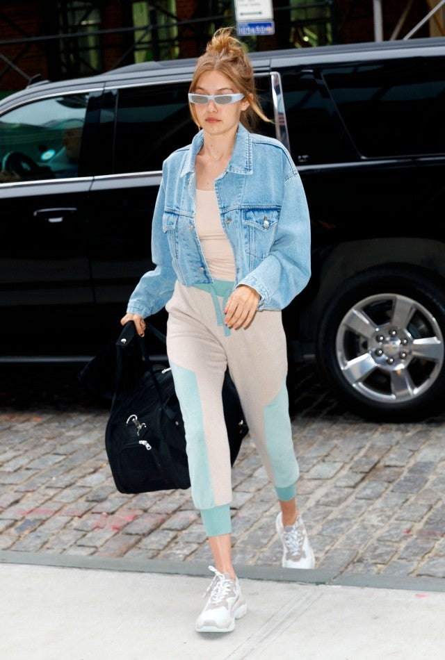 Gigi Hadid workout outfit