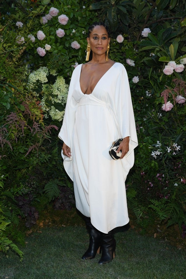 Tracee Ellis Ross at Valentino front row