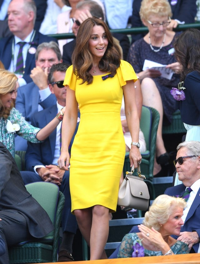 Kate Middleton at Wimbledon 2018