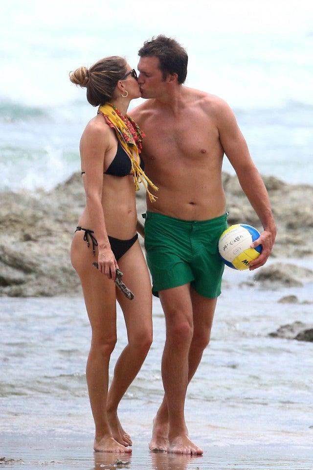 Gisele Bundchen And Tom Brady In Costa Rica
