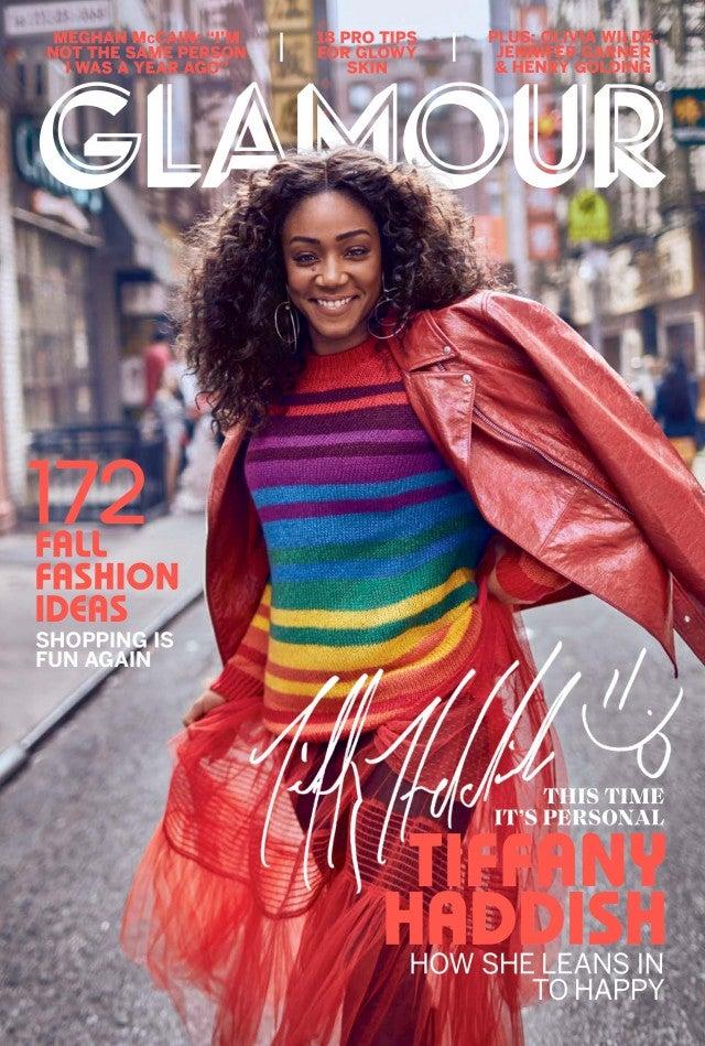 Tiffany Haddish covers 'Glamour' magazine's September issue