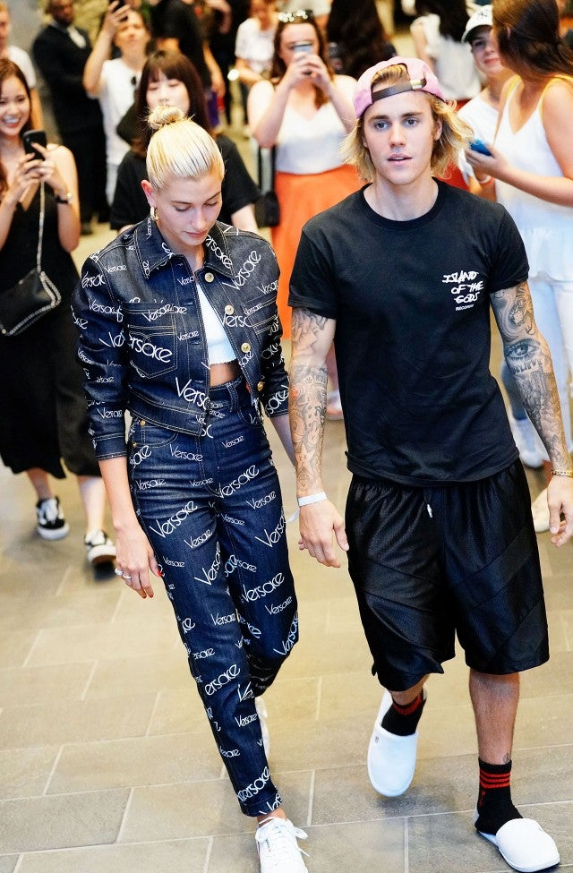 Justin Bieber And Hailey Baldwin Hold Hands On Romantic