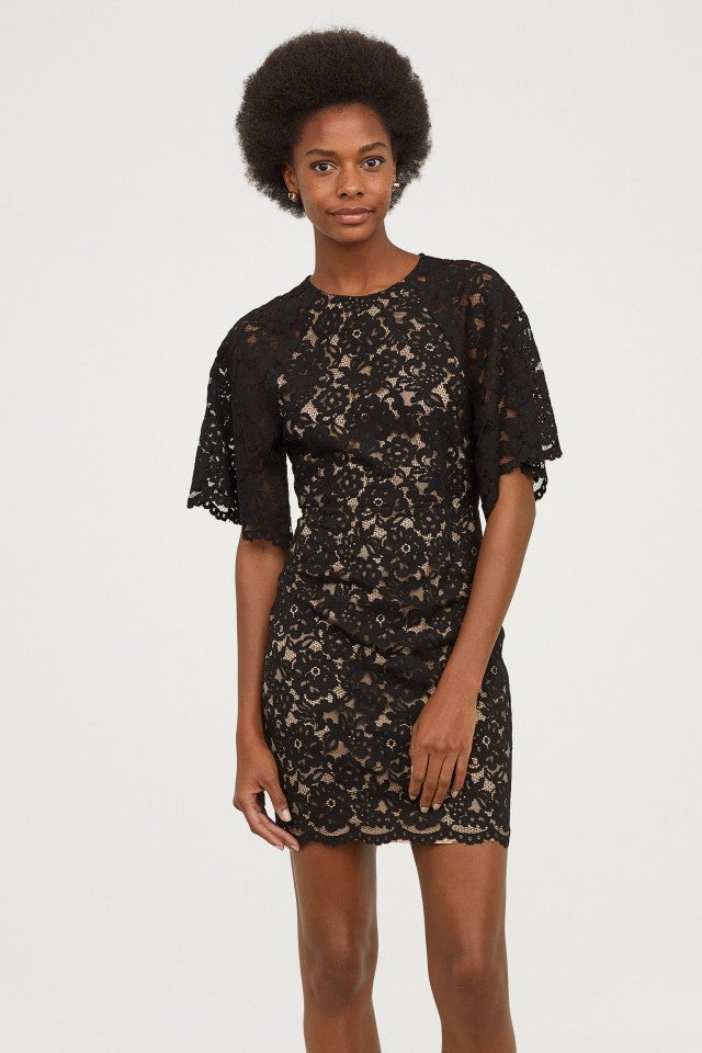 H&M Short Lace Dress