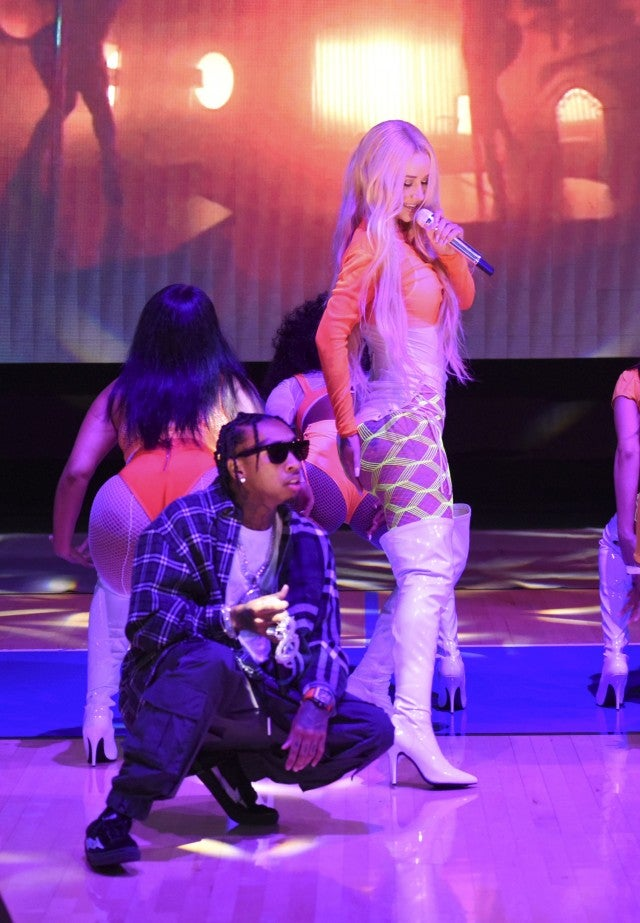 Iggy Azalea, Tyga Charity Challenge Celebrity Basketball Game
