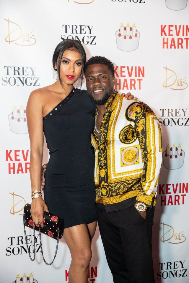 Kevin Hart Celebrates His 39th Birthday With Wife Eniko in