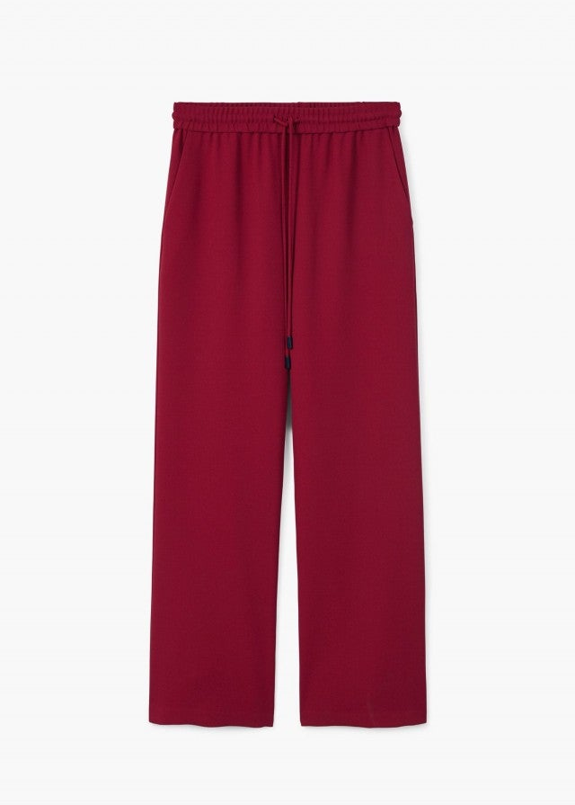 Mango dark red pants