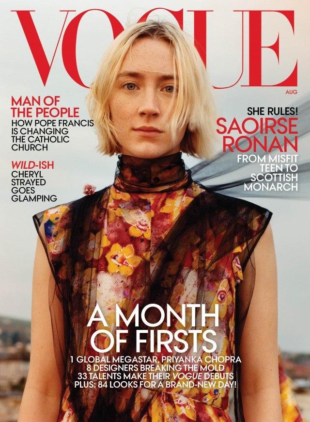 Saoirse Ronan Vogue Cover