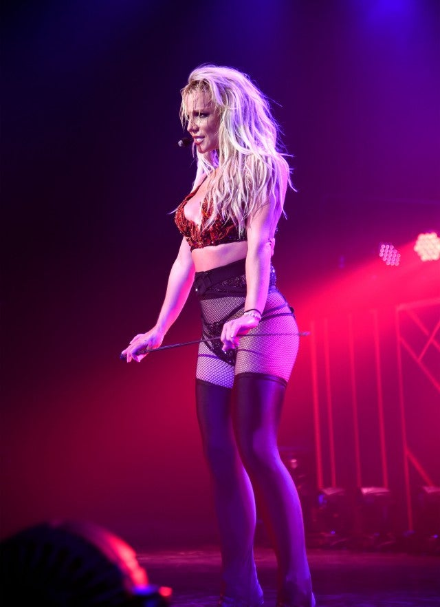 Britney Spears Kicks Off Piece Of Me Tour With Some -4809