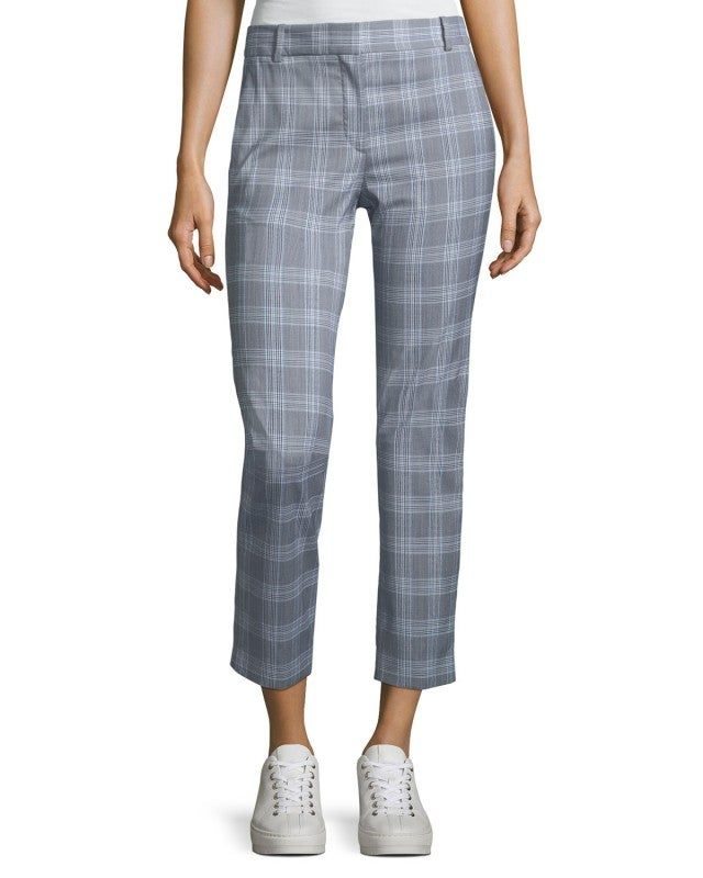 Theory Maple check pant
