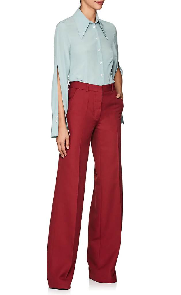 Victoria Beckham shirt and pant